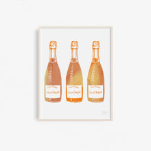 Champagne - Kitchen Art Print