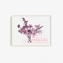 Floral Arrangement Art Print