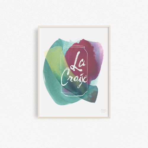 La Croix Can Kitchen Art Print