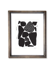 Organic Shapes with Patterns | Block Print