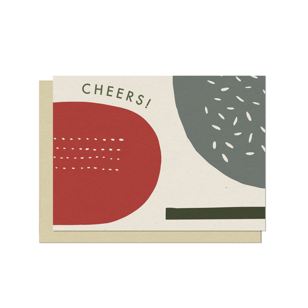 Holiday Cheers | Blank Holiday Card