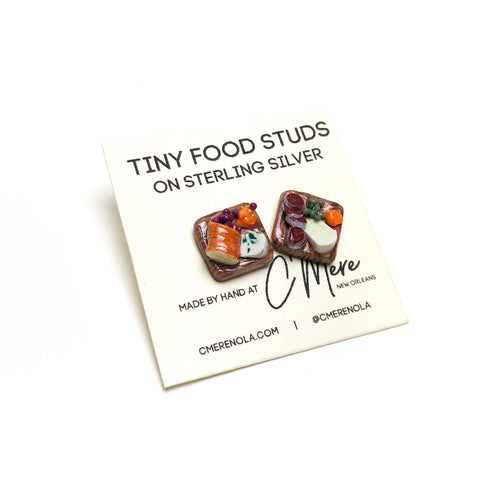 Charcuterie Board Studs - Tiny Food by C'Mere