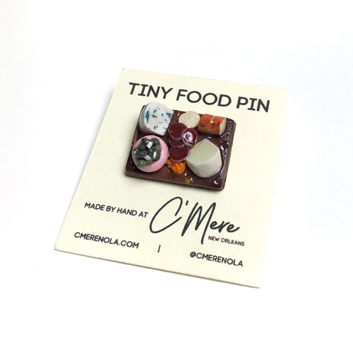 Charcuterie Board Pin - Tiny Food by C'Mere