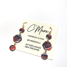 Polymer Clay Dangle Earrings by C'Mere (005)