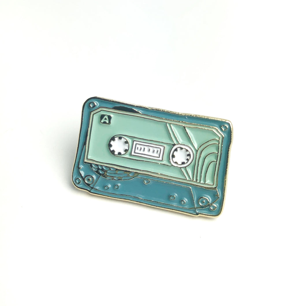 90's Cassette Tape - Musical Enamel Pin