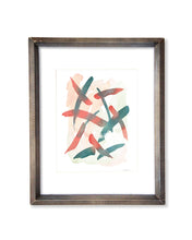 Layered Strokes - Original Watercolor Painting - No.3