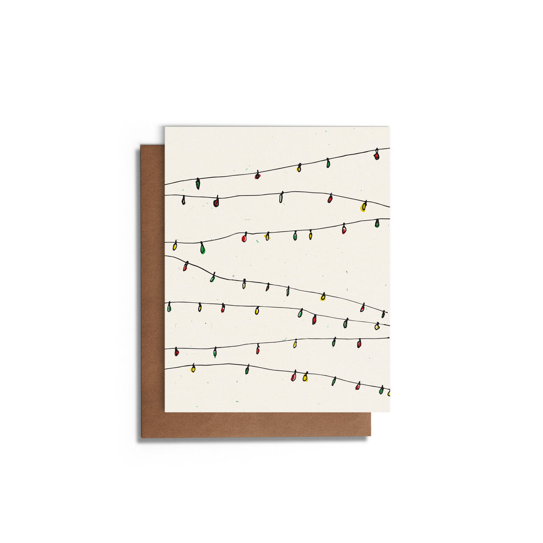 Christmas Lights | Christmas Card