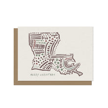 Louisiana State - Christmas Card