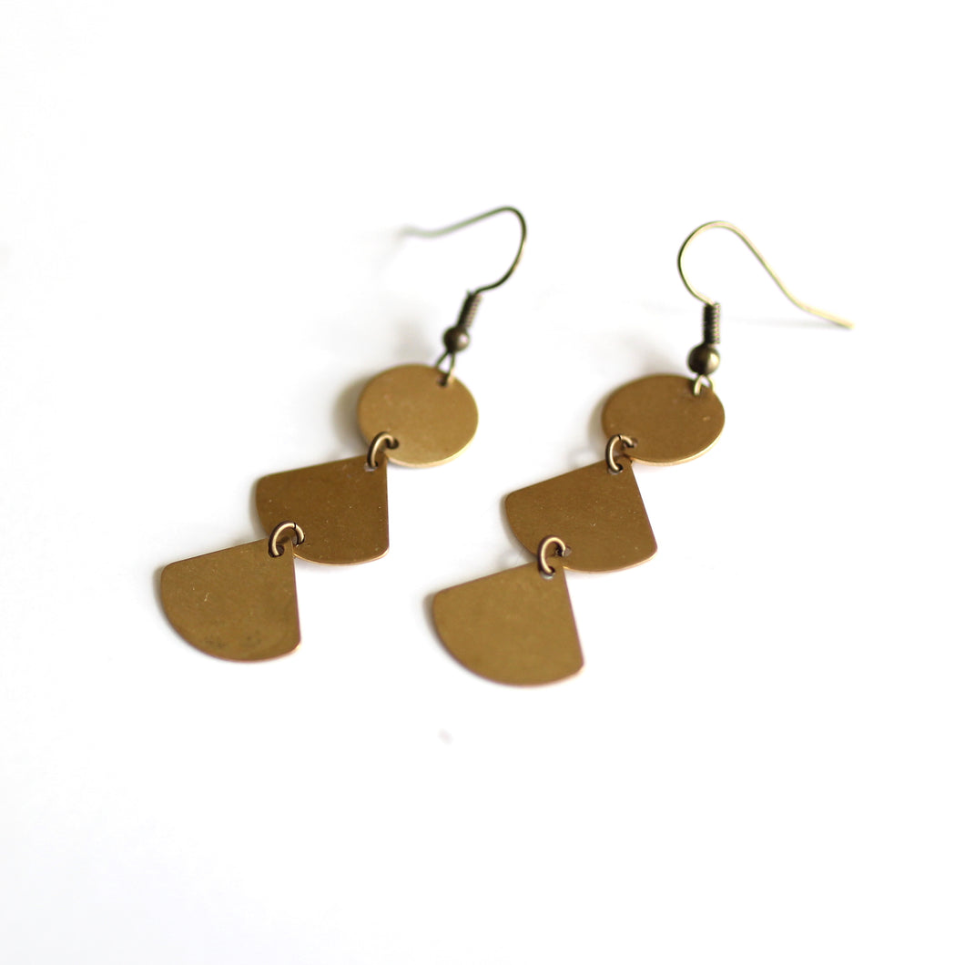 Minimalist Chandelier Earrings