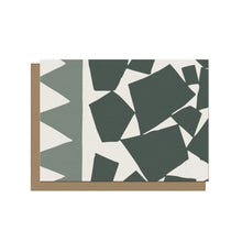 Mixed Up Shapes Blank Card