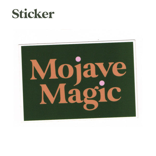 Mojave Magic Sticker