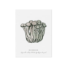 Mushrooms Veggie Illustration