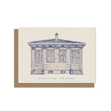 Creole Cottage - New Orleans Blank Card