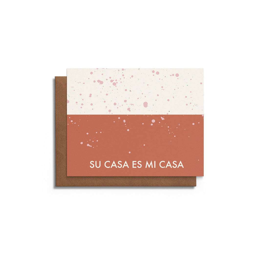 Su Casa Housewarming Card