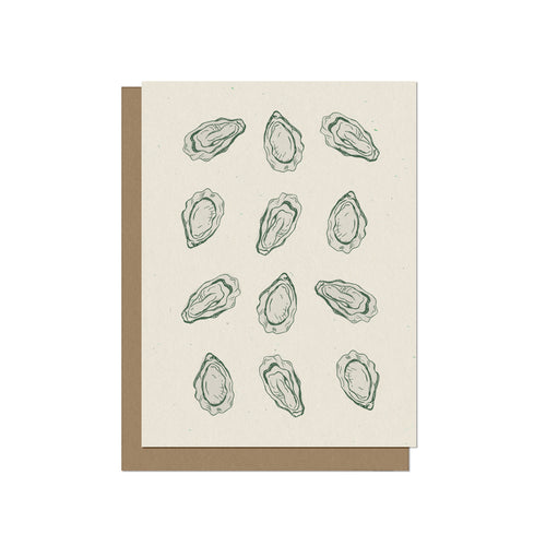 Oysters - Blank Card