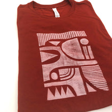 Playful Geo Shapes Block Printed Unisex T-Shirt