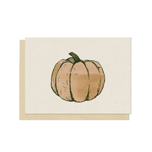 Pumpkin Blank Card