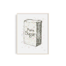 Pure Sugar Kitchen Art Print - Neutral