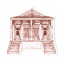 Queen Anne Double New Orleans Home Sticker