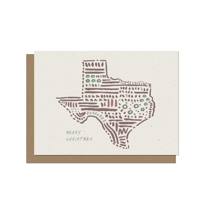 Texas State - Christmas Card