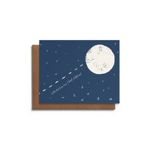 To the Moon | Love Card