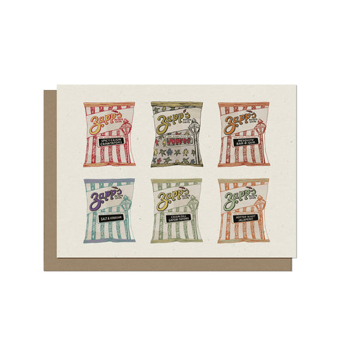 Zapps Assorted Chips - Blank Card