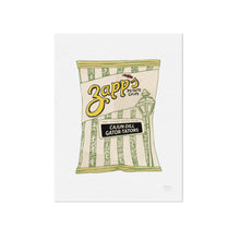 Zapps Cajun Dill Chips Illustration