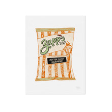 Zapps Hotter N Hot Jalapeno Chips Illustration by Statement Goods
