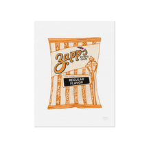 Zapps Regular Chips Illustration by Statement Goods