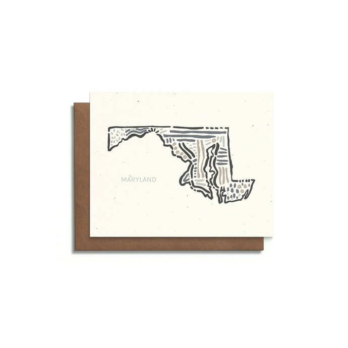 Maryland State Greeting Card