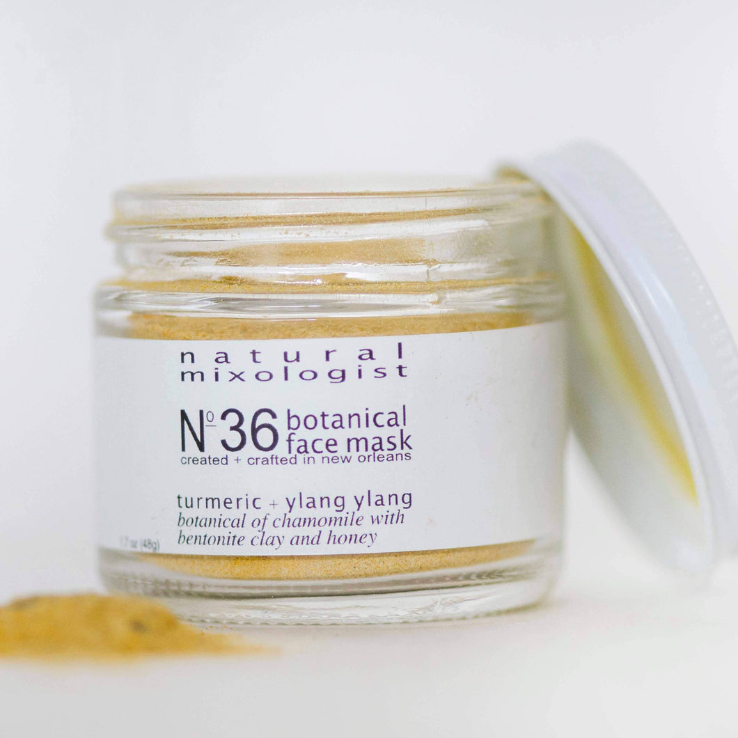 No. 36 Turmeric and Honey Facial Mask