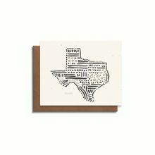 Texas State Greeting Card