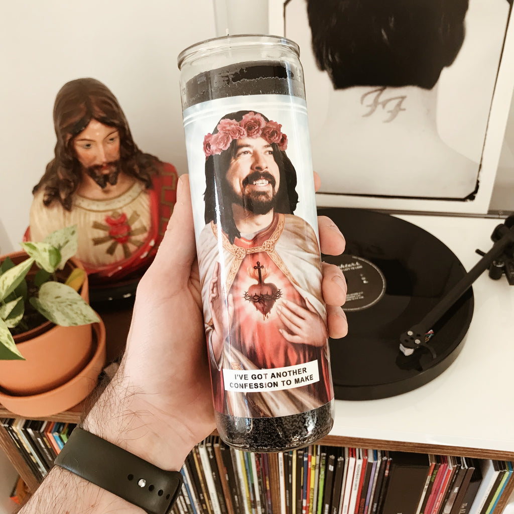 Saint Dave Grohl | Foo Fighters Prayer Candle