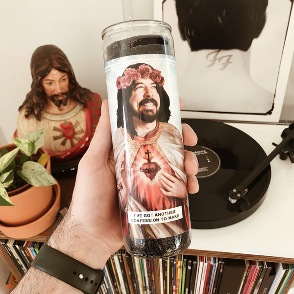 Saint Grohl Prayer Candle