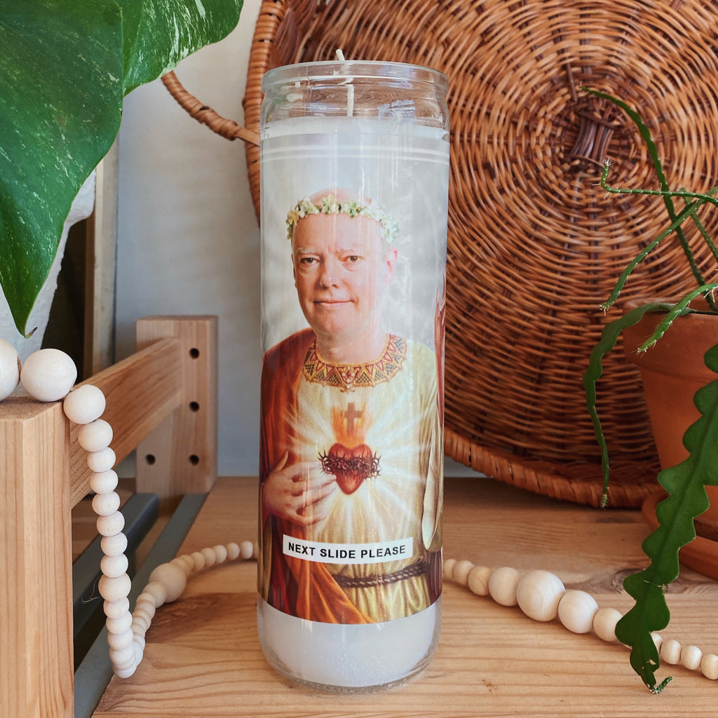 Saint Chris Whitty Prayer Candle