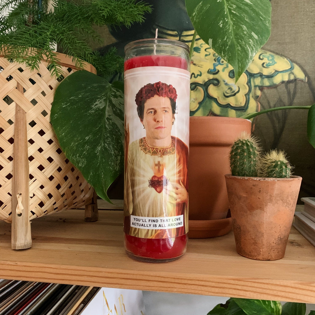 Saint Hugh Grant Prayer Candle