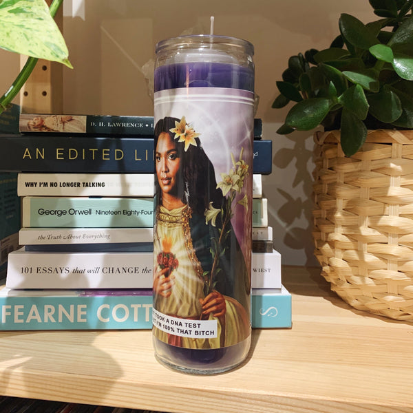 Saint Lizzo Prayer Candle