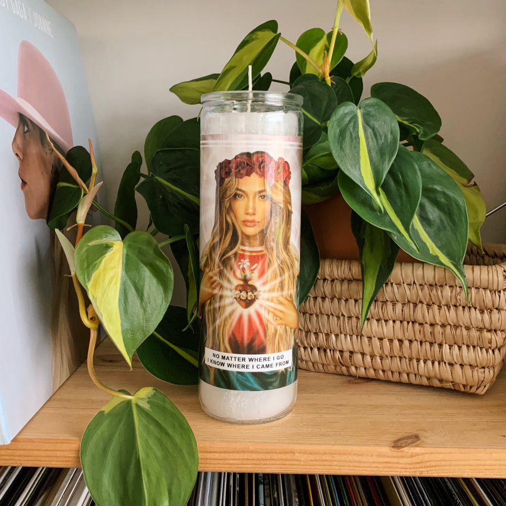 Saint Jennifer Lopez | Jlo Prayer Candle
