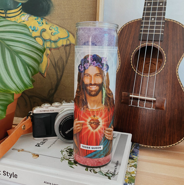 Saint Jonathan Van Ness Prayer Candle