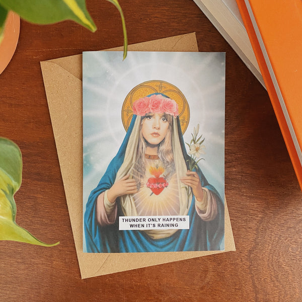 Ain't Saint | Celebrity Saint Greetings Cards