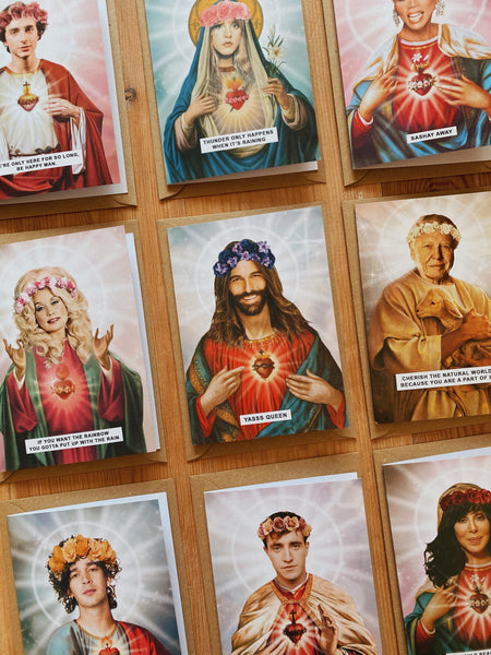 Saint RuPaul Drag Race Greetings Card