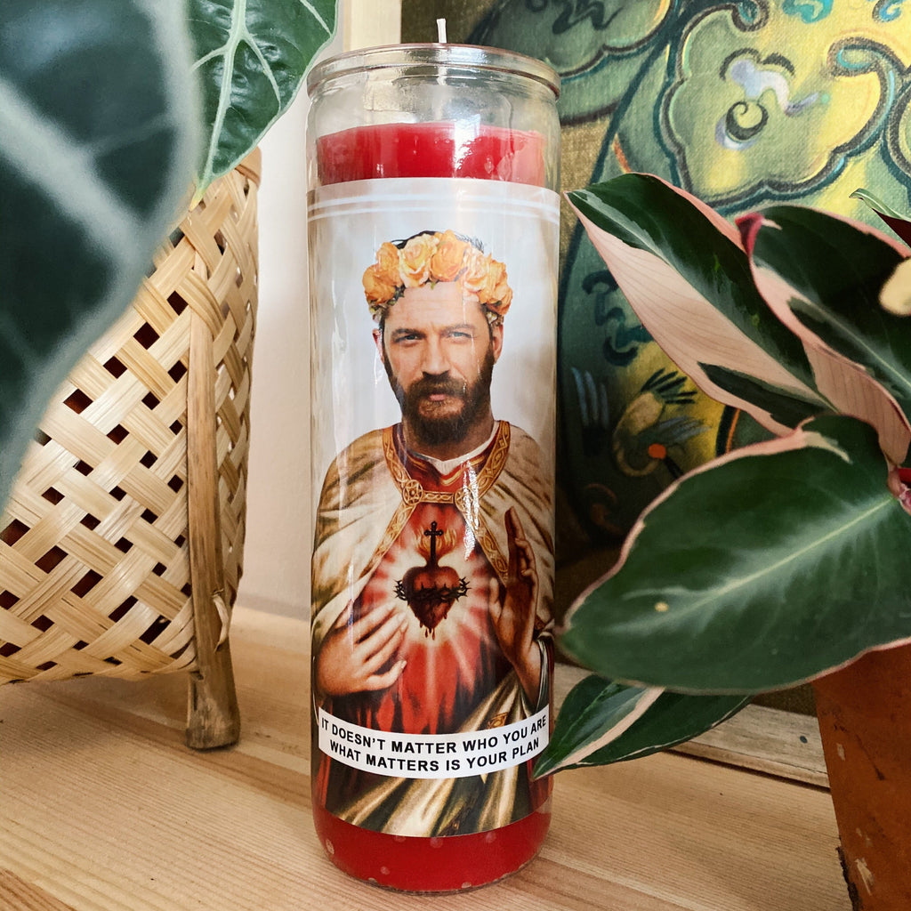 Saint Tom Hardy Prayer Candle
