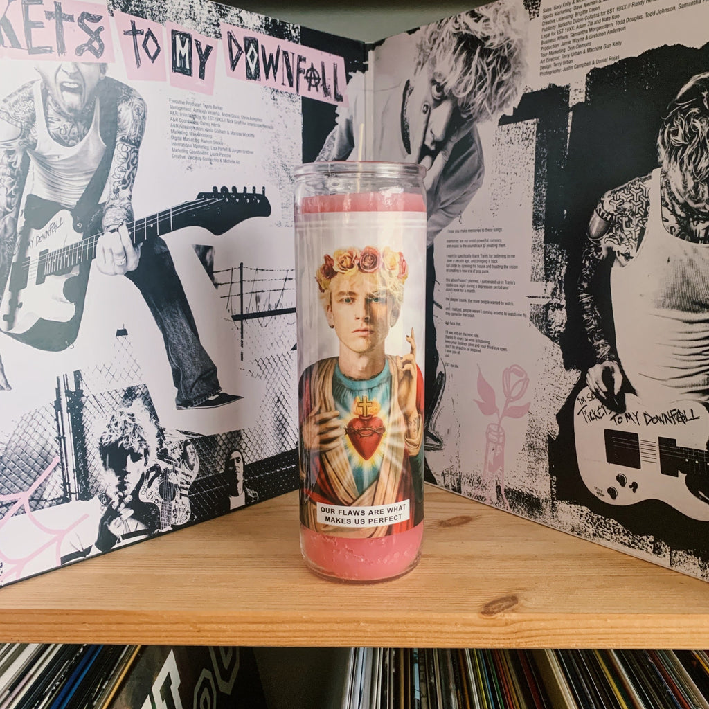 Saint Machine Gun Kelly Prayer Candle