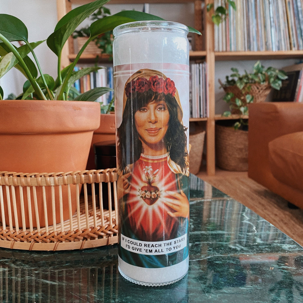 Saint Cher Prayer Candle
