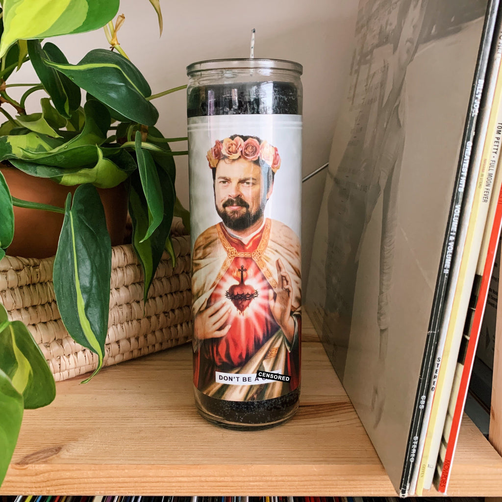 Saint Billy Butcher | Karl Urban Prayer Candle
