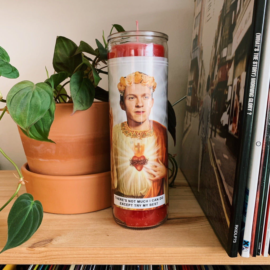 Saint Tom Holland Prayer Candle