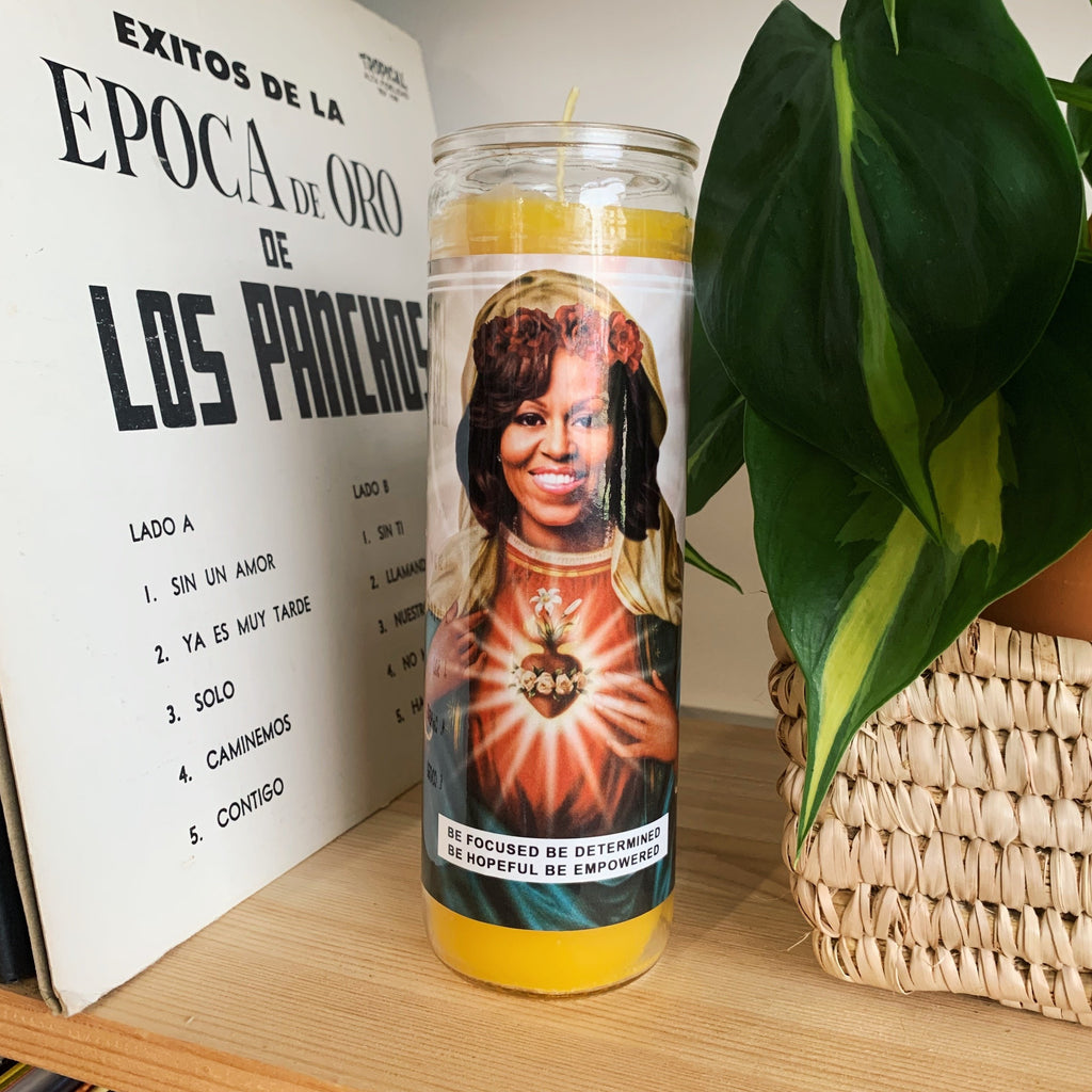 Saint Michelle Obama Prayer Candle
