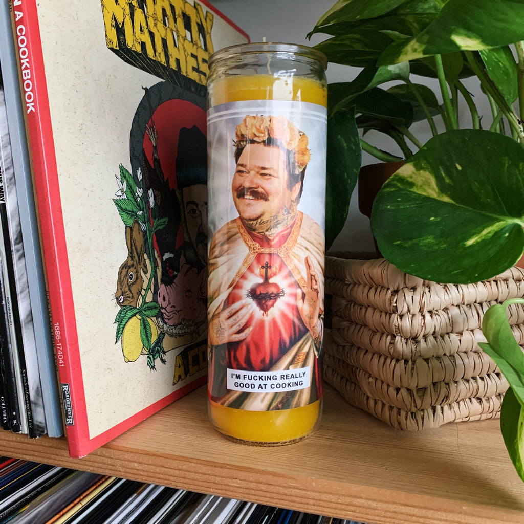 Saint Matty Matheson Prayer Candle