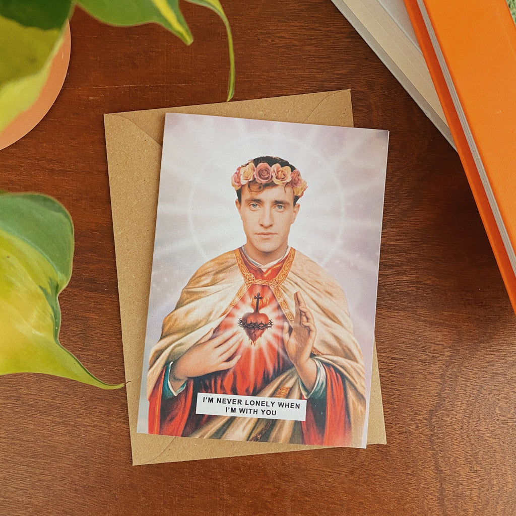 Saint Connell Normal People | Paul Mescal Greetings Card