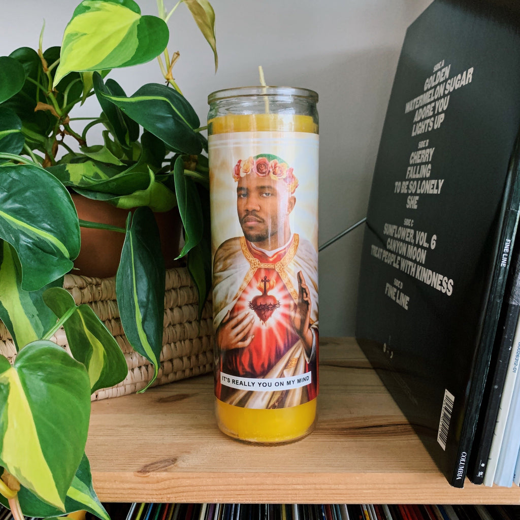 Saint Frank Ocean Prayer Candle